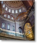 Yeni Valide  Camii Mosque Istanbul Turkey Metal Print