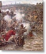 Yermaks Conquest Of Siberia Metal Print