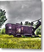 Yesteryear - Hdr Look Metal Print
