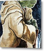 Yoda Metal Print by David Kraig