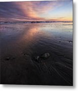 York Beach Metal Print