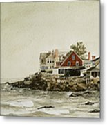 York Beach Metal Print by Monte Toon