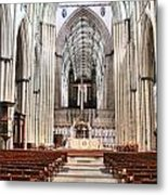 York Minster 6114 Metal Print