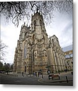 York Minster Metal Print