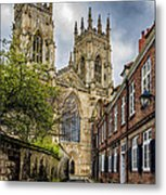 York Minster England Metal Print
