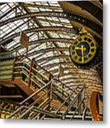 York Railway Station Metal Print