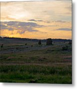 Yorkshire - Sheepwash Osmotherley Metal Print
