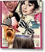 Yorkshire Terrier Art Canvas Print - My Fair Lady Movie Poster Metal Print