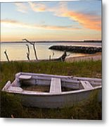 Yorktown Beach Sunset Metal Print