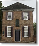 Yorktown Customs House Metal Print by Teresa Mucha