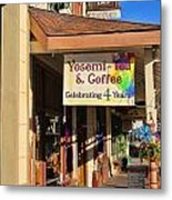 Yosemi Tea Coffee Shop Mariposa California  6935 Metal Print