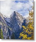 Yosemite Between Seasons Metal Print