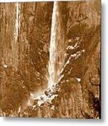 Yosemite Bridalveil Falls Metal Print