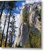 Yosemite In The Fall Metal Print