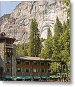 Yosemite National Park Lodging Metal Print