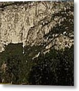 Yosemite Panorama Metal Print