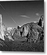 Yosemite Panorama Metal Print