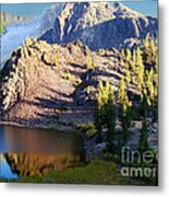 Yosemite Reflection Metal Print by Eva Kato
