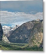 Yosemite Valley Afternoon Metal Print