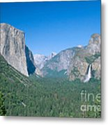 Yosemite Valley Metal Print by David Davis