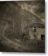 You Are Not Here Metal Print