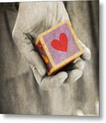 You Hold My Heart In Your Hand Metal Print