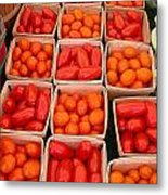 You Say Tomato Metal Print