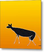Young Antelope Metal Print