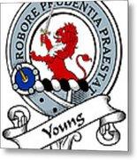 Young Clan Badge Metal Print