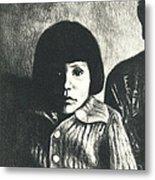 Young Girl Original Metal Print