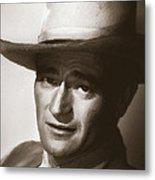 Young John Wayne Painting Traditional Metal Print