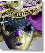 Young Lady Metal Print