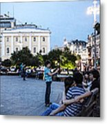 Young Lovers And Other Strangers - Moscow- Russia Metal Print