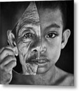 Young Or Old Metal Print