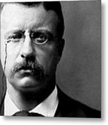 Young Theodore Roosevelt Metal Print