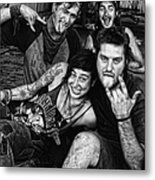 Young Wanderers  Metal Print