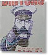 Your Country Needs You Metal Print