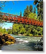 Your Crossing  Metal Print by Tim Rice