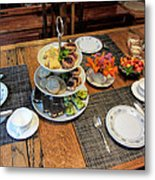 Your Invited To A Tea Party Metal Print