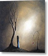Your Memory Lives On In Me By Shawna Erback Metal Print by Shawna Erback