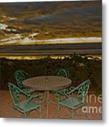 Your Table Is Ready Metal Print