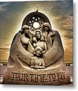 Your Time To Fly Metal Print