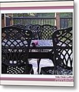 You're Invited Metal Print