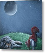 Youre Just A Big Bad Wolf. Metal Print