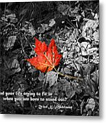 You're One Of A Kind Metal Print