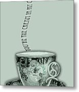 You're The Cream In My Coffee Valentine Metal Print