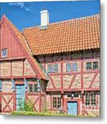 Ystad Old Mayors House Metal Print
