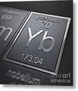 Ytterbium Chemical Element Metal Print