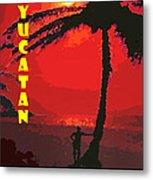 Yucatan Caribbean Metal Print