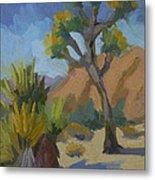 Yucca And Joshua Metal Print